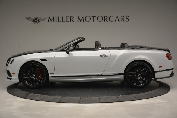 New 2018 Bentley Continental GT Supersports Convertible for sale Sold at Alfa Romeo of Greenwich in Greenwich CT 06830 3