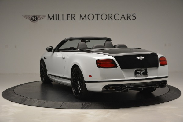 New 2018 Bentley Continental GT Supersports Convertible for sale Sold at Alfa Romeo of Greenwich in Greenwich CT 06830 5