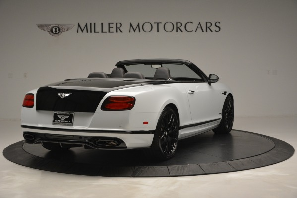 New 2018 Bentley Continental GT Supersports Convertible for sale Sold at Alfa Romeo of Greenwich in Greenwich CT 06830 7
