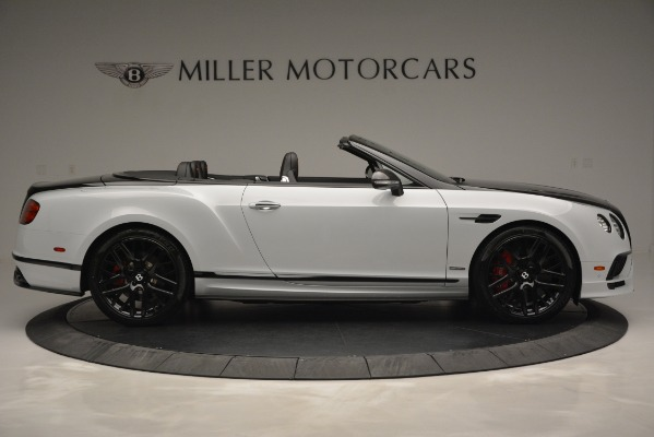 New 2018 Bentley Continental GT Supersports Convertible for sale Sold at Alfa Romeo of Greenwich in Greenwich CT 06830 9