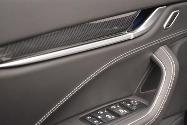 New 2017 Maserati Levante S Q4 for sale Sold at Alfa Romeo of Greenwich in Greenwich CT 06830 23