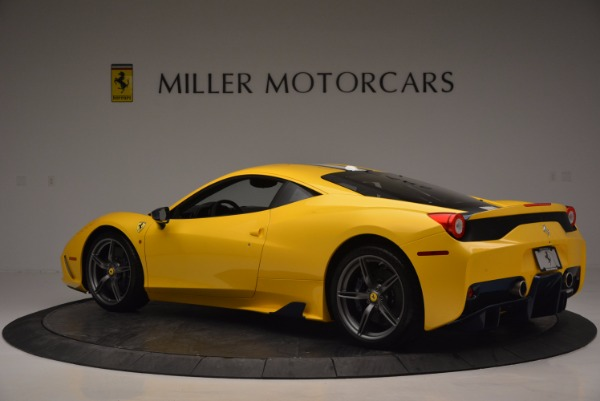Used 2015 Ferrari 458 Speciale for sale Sold at Alfa Romeo of Greenwich in Greenwich CT 06830 4