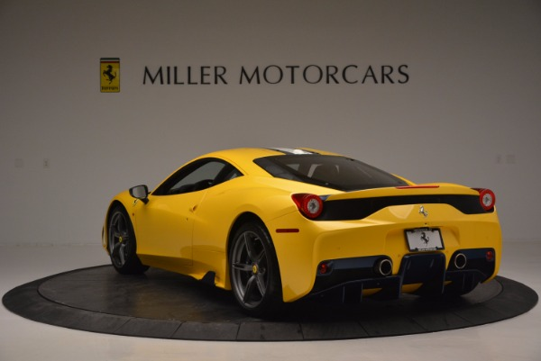 Used 2015 Ferrari 458 Speciale for sale Sold at Alfa Romeo of Greenwich in Greenwich CT 06830 5