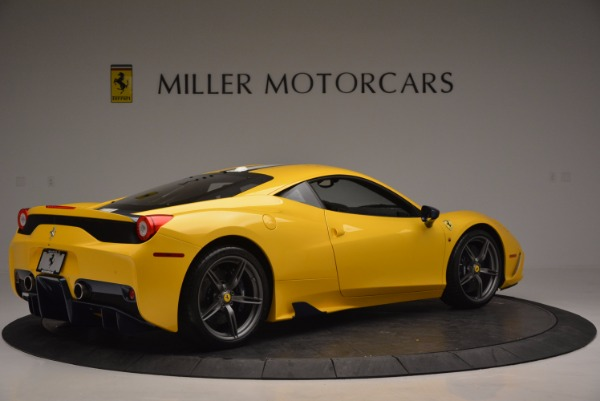 Used 2015 Ferrari 458 Speciale for sale Sold at Alfa Romeo of Greenwich in Greenwich CT 06830 8