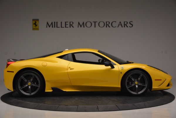 Used 2015 Ferrari 458 Speciale for sale Sold at Alfa Romeo of Greenwich in Greenwich CT 06830 9