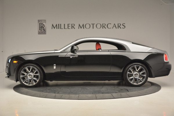 Used 2017 Rolls-Royce Wraith for sale Call for price at Alfa Romeo of Greenwich in Greenwich CT 06830 3