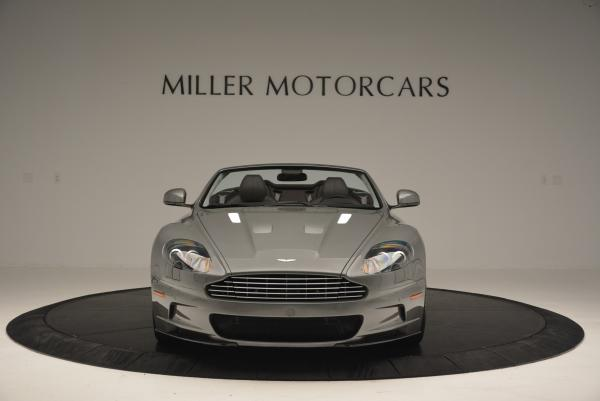 Used 2010 Aston Martin DBS Volante for sale Sold at Alfa Romeo of Greenwich in Greenwich CT 06830 12