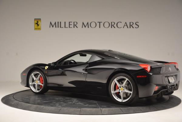 Used 2013 Ferrari 458 Italia for sale Sold at Alfa Romeo of Greenwich in Greenwich CT 06830 4
