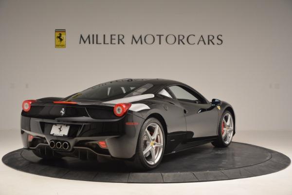 Used 2013 Ferrari 458 Italia for sale Sold at Alfa Romeo of Greenwich in Greenwich CT 06830 7