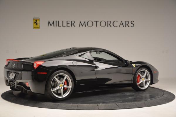 Used 2013 Ferrari 458 Italia for sale Sold at Alfa Romeo of Greenwich in Greenwich CT 06830 8