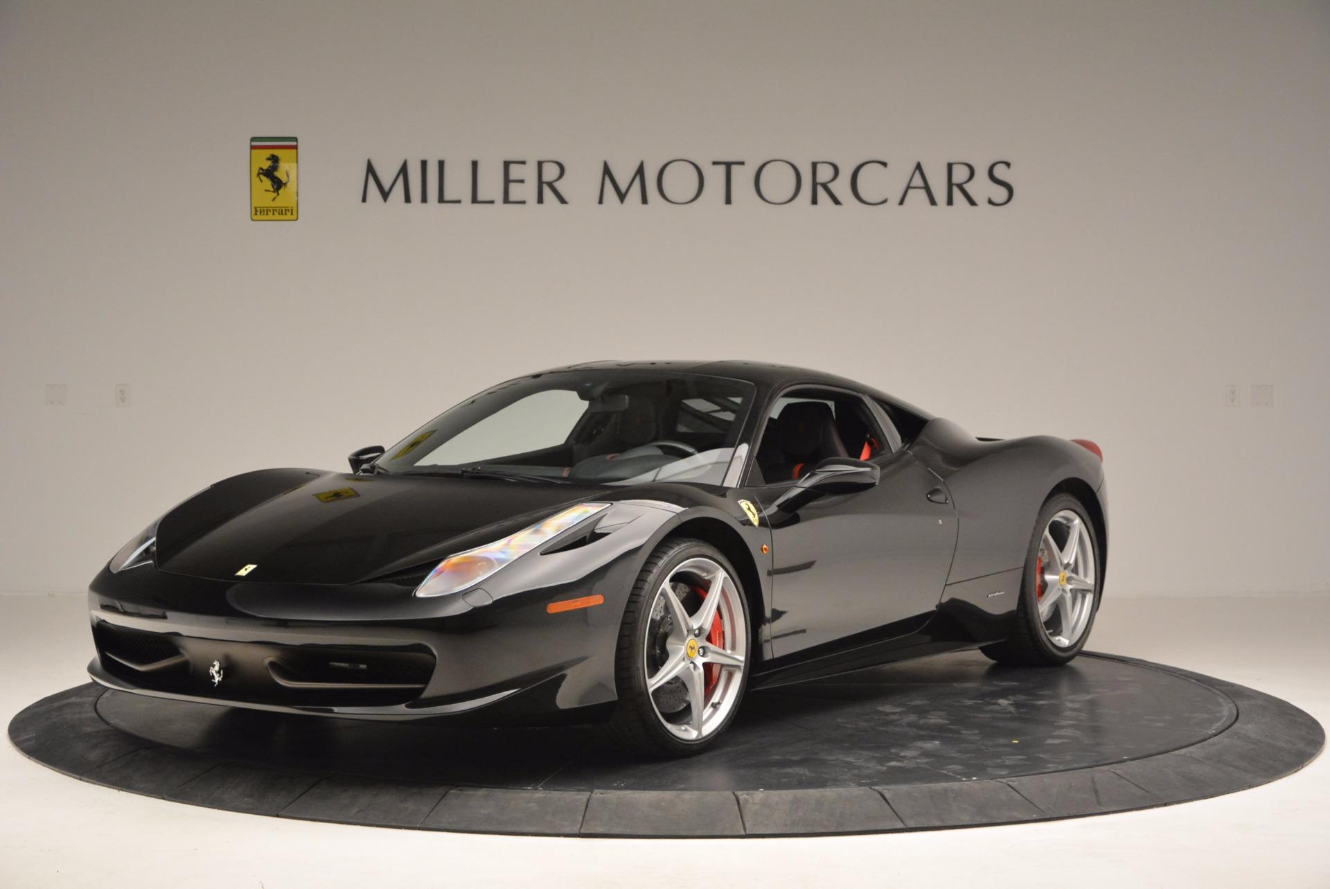 Used 2013 Ferrari 458 Italia for sale Sold at Alfa Romeo of Greenwich in Greenwich CT 06830 1