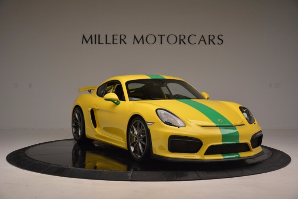 Used 2016 Porsche Cayman GT4 for sale Sold at Alfa Romeo of Greenwich in Greenwich CT 06830 11