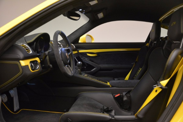 Used 2016 Porsche Cayman GT4 for sale Sold at Alfa Romeo of Greenwich in Greenwich CT 06830 14