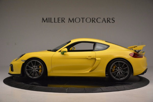 Used 2016 Porsche Cayman GT4 for sale Sold at Alfa Romeo of Greenwich in Greenwich CT 06830 3