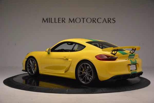 Used 2016 Porsche Cayman GT4 for sale Sold at Alfa Romeo of Greenwich in Greenwich CT 06830 4