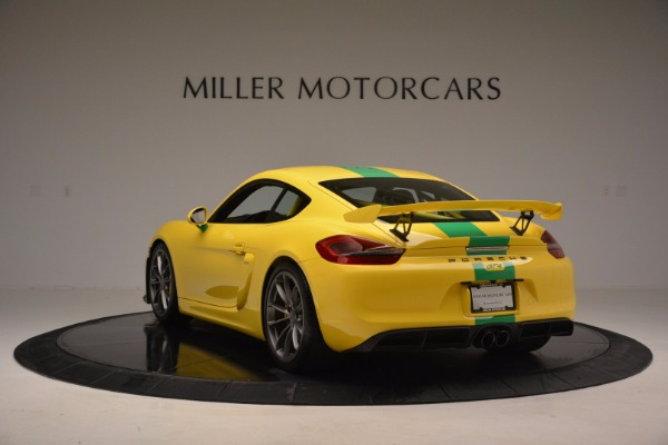 Used 2016 Porsche Cayman GT4 for sale Sold at Alfa Romeo of Greenwich in Greenwich CT 06830 5