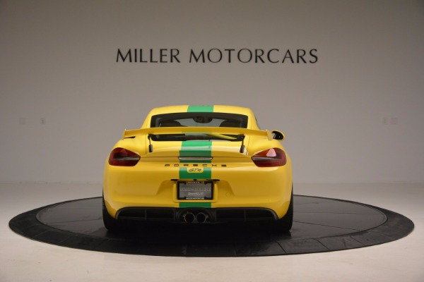 Used 2016 Porsche Cayman GT4 for sale Sold at Alfa Romeo of Greenwich in Greenwich CT 06830 6