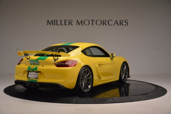 Used 2016 Porsche Cayman GT4 for sale Sold at Alfa Romeo of Greenwich in Greenwich CT 06830 7