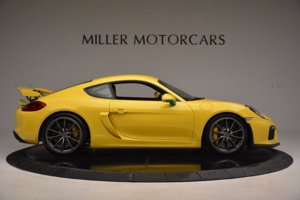 Used 2016 Porsche Cayman GT4 for sale Sold at Alfa Romeo of Greenwich in Greenwich CT 06830 9