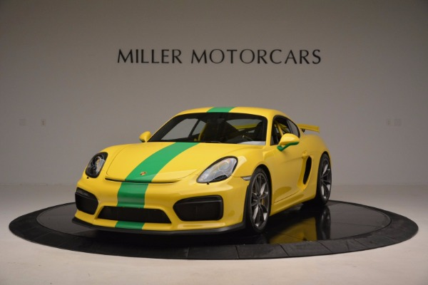 Used 2016 Porsche Cayman GT4 for sale Sold at Alfa Romeo of Greenwich in Greenwich CT 06830 1