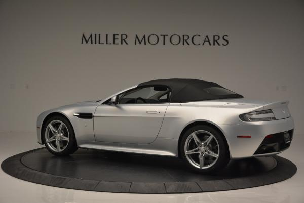 New 2016 Aston Martin V8 Vantage GTS Roadster for sale Sold at Alfa Romeo of Greenwich in Greenwich CT 06830 15