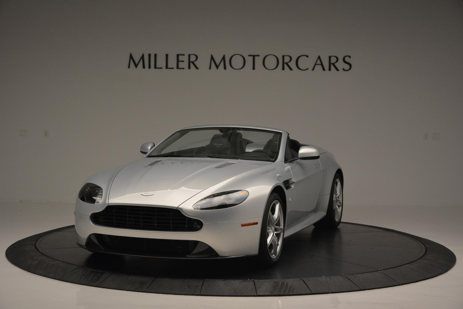 New 2016 Aston Martin V8 Vantage GTS Roadster for sale Sold at Alfa Romeo of Greenwich in Greenwich CT 06830 1