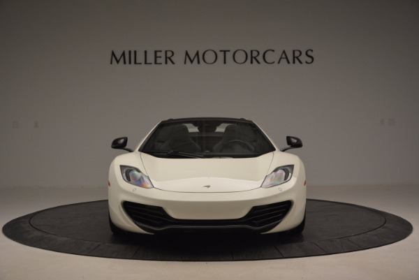 Used 2014 McLaren MP4-12C Spider for sale Sold at Alfa Romeo of Greenwich in Greenwich CT 06830 12