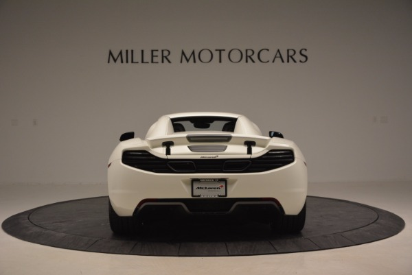 Used 2014 McLaren MP4-12C Spider for sale Sold at Alfa Romeo of Greenwich in Greenwich CT 06830 17