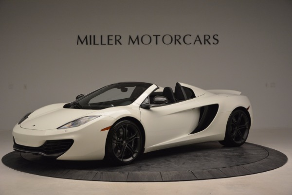 Used 2014 McLaren MP4-12C Spider for sale Sold at Alfa Romeo of Greenwich in Greenwich CT 06830 2
