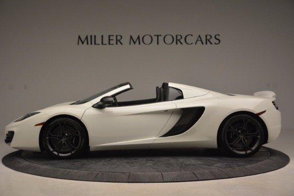Used 2014 McLaren MP4-12C Spider for sale Sold at Alfa Romeo of Greenwich in Greenwich CT 06830 3