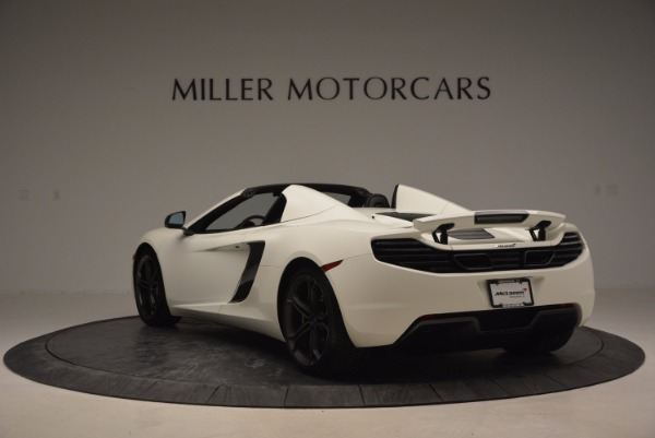 Used 2014 McLaren MP4-12C Spider for sale Sold at Alfa Romeo of Greenwich in Greenwich CT 06830 5