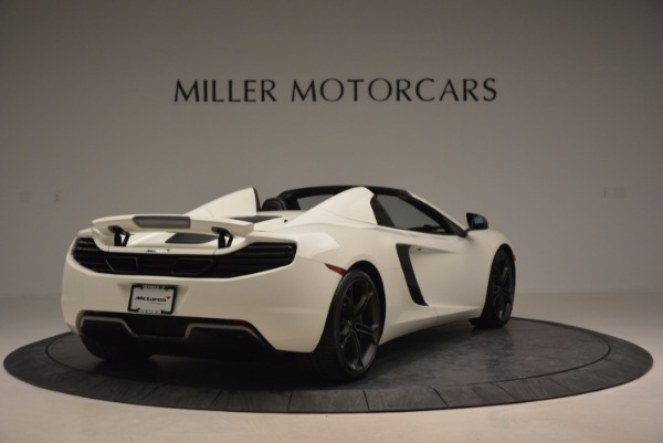 Used 2014 McLaren MP4-12C Spider for sale Sold at Alfa Romeo of Greenwich in Greenwich CT 06830 7