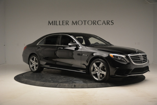 Used 2014 Mercedes Benz S-Class S 63 AMG for sale Sold at Alfa Romeo of Greenwich in Greenwich CT 06830 10