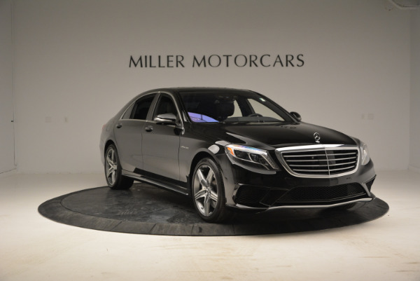 Used 2014 Mercedes Benz S-Class S 63 AMG for sale Sold at Alfa Romeo of Greenwich in Greenwich CT 06830 11