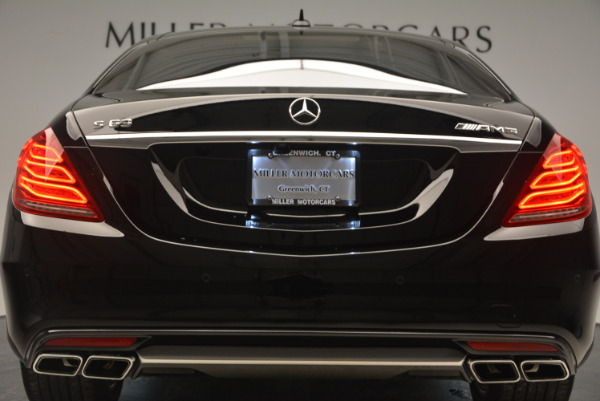 Used 2014 Mercedes Benz S-Class S 63 AMG for sale Sold at Alfa Romeo of Greenwich in Greenwich CT 06830 15