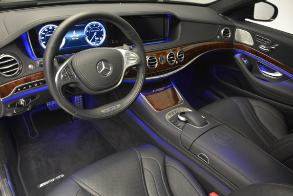Used 2014 Mercedes Benz S-Class S 63 AMG for sale Sold at Alfa Romeo of Greenwich in Greenwich CT 06830 17
