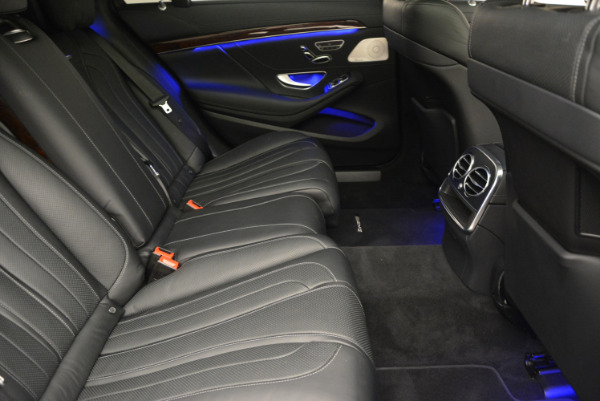 Used 2014 Mercedes Benz S-Class S 63 AMG for sale Sold at Alfa Romeo of Greenwich in Greenwich CT 06830 27