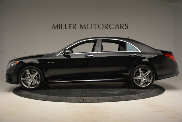 Used 2014 Mercedes Benz S-Class S 63 AMG for sale Sold at Alfa Romeo of Greenwich in Greenwich CT 06830 3