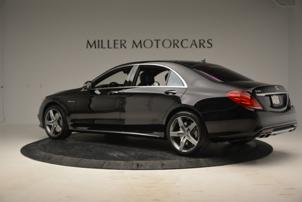 Used 2014 Mercedes Benz S-Class S 63 AMG for sale Sold at Alfa Romeo of Greenwich in Greenwich CT 06830 4