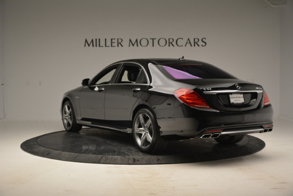 Used 2014 Mercedes Benz S-Class S 63 AMG for sale Sold at Alfa Romeo of Greenwich in Greenwich CT 06830 5