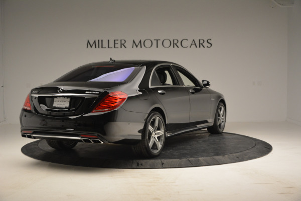 Used 2014 Mercedes Benz S-Class S 63 AMG for sale Sold at Alfa Romeo of Greenwich in Greenwich CT 06830 7
