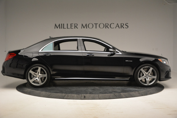 Used 2014 Mercedes Benz S-Class S 63 AMG for sale Sold at Alfa Romeo of Greenwich in Greenwich CT 06830 9