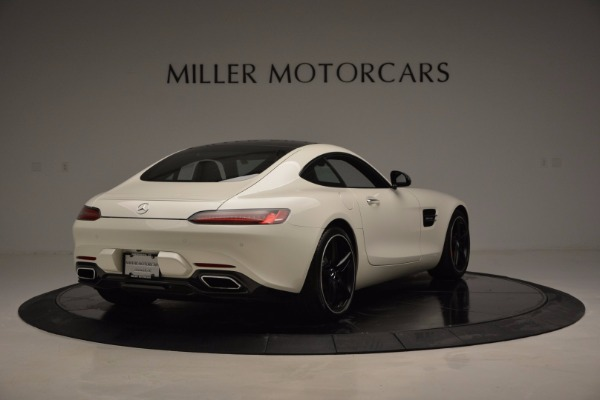 Used 2016 Mercedes Benz AMG GT S for sale Sold at Alfa Romeo of Greenwich in Greenwich CT 06830 7