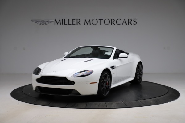 New 2015 Aston Martin Vantage GT GT Roadster for sale Sold at Alfa Romeo of Greenwich in Greenwich CT 06830 13