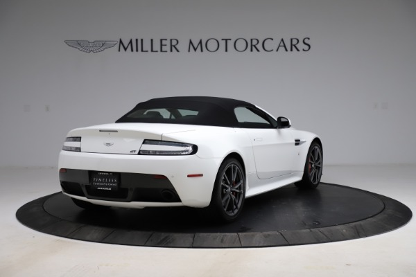 New 2015 Aston Martin Vantage GT GT Roadster for sale Sold at Alfa Romeo of Greenwich in Greenwich CT 06830 28