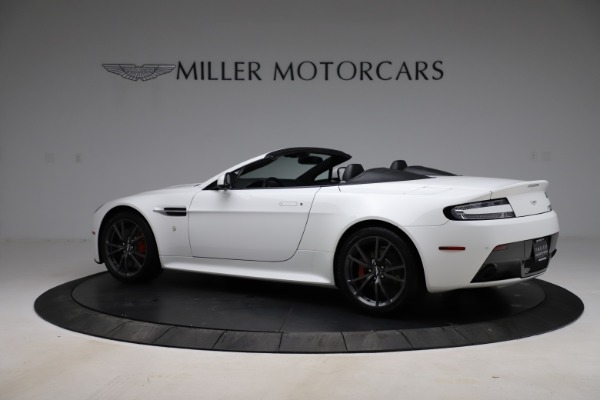New 2015 Aston Martin Vantage GT GT Roadster for sale Sold at Alfa Romeo of Greenwich in Greenwich CT 06830 3