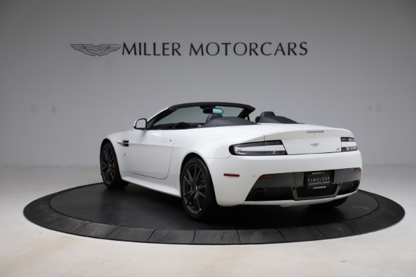 New 2015 Aston Martin Vantage GT GT Roadster for sale Sold at Alfa Romeo of Greenwich in Greenwich CT 06830 4