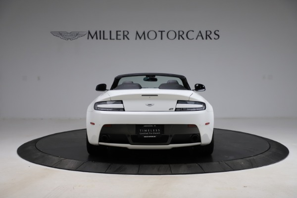 New 2015 Aston Martin Vantage GT GT Roadster for sale Sold at Alfa Romeo of Greenwich in Greenwich CT 06830 5