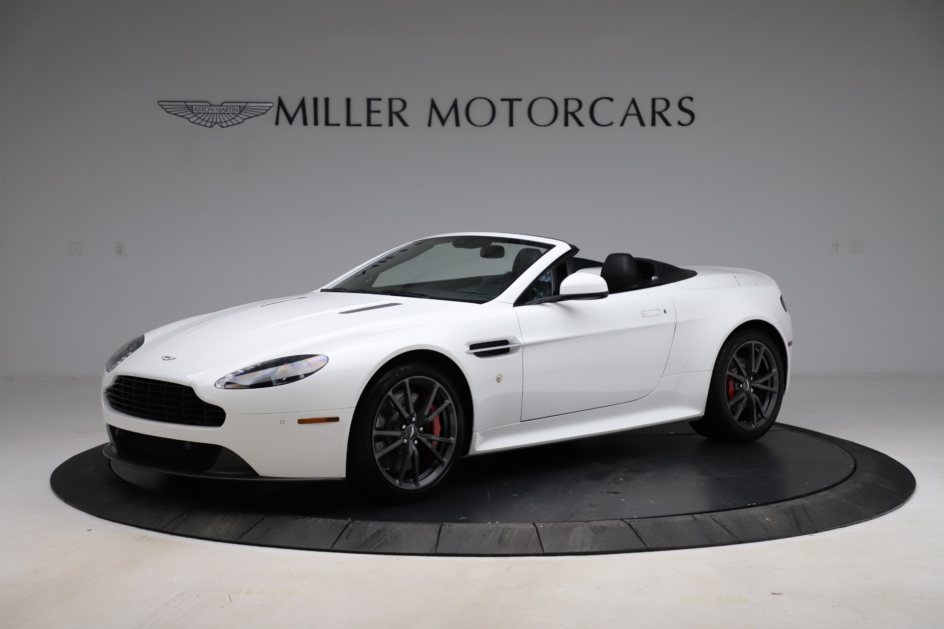 New 2015 Aston Martin Vantage GT GT Roadster for sale Sold at Alfa Romeo of Greenwich in Greenwich CT 06830 1