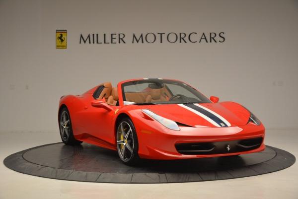 Used 2014 Ferrari 458 Spider for sale Sold at Alfa Romeo of Greenwich in Greenwich CT 06830 11